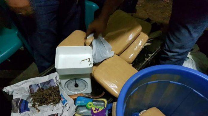 2 penumpang bus asal Aceh bawa 54 bal ganja ditangkap di Sumut