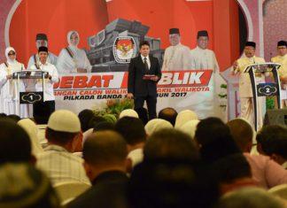 Debat Cawalkot Banda Aceh dimulai