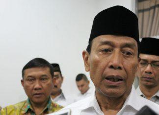 Luruskan pernyataan Panglima TNI, Wiranto sebut 500 pucuk senjata untuk Pendidikan BIN