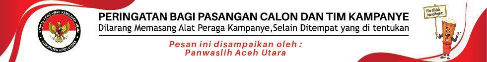 Iklan Panwaslih Aceh