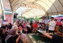 Kampanye dialogis di Kuta Alam, Abu Doto paparkan program keberhasilannya