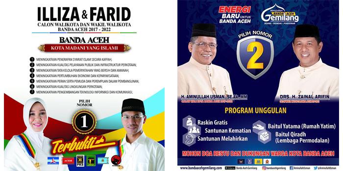 Paslon Banda Aceh Gabung Fiinal Kanal Aceh