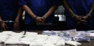5 tersangka kasus narkotika diringkus Polres Langsa di tempat berbeda