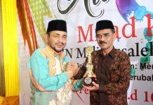 Hafifuddin dilantik sebagai Rektor IAIN Malikussaleh, Cekmad: Beliau sangat berilmu