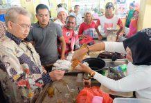 Tiba di Sabang, Abu doto kunjungi pasar pagi