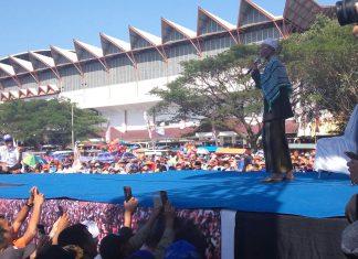 Kampanye Irwandi, Abu Tumin: Jangan gundah kita pasti menang