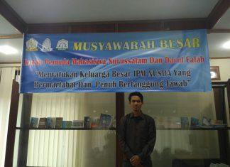 Terpilih secara aklamasi, Darkasyi resmi pimpin Ipm Nusda Aceh Timur