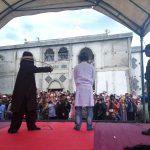 Eksekusi cambuk tertutup timbulkan masalah bagi Pemerintah Aceh