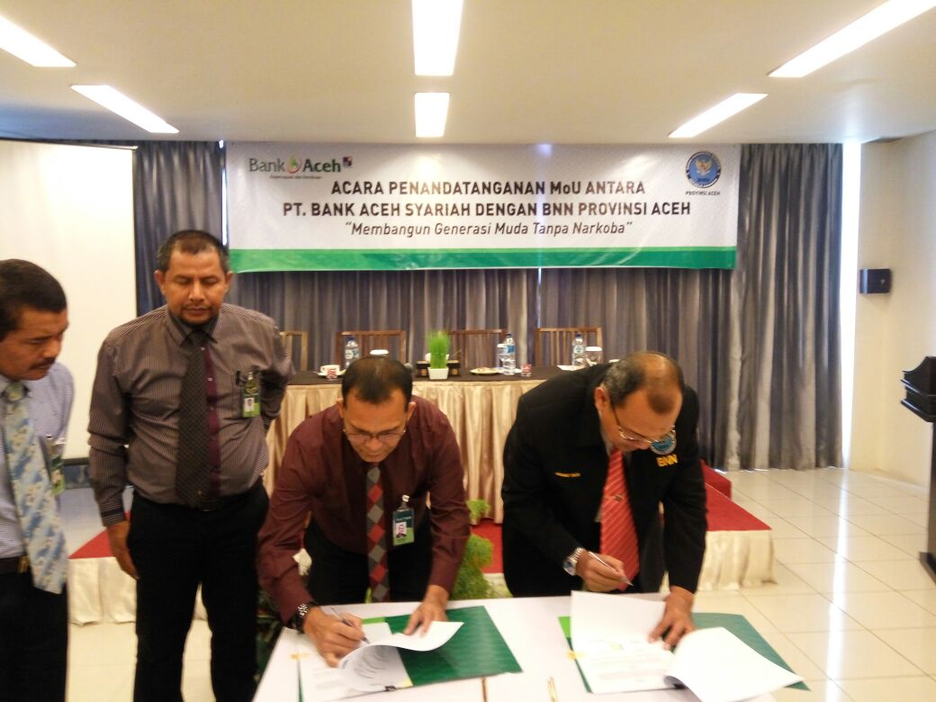 Berantas narkoba, Bank Aceh Syariah gandeng BNNP