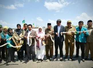 Pembangunan Jembatan Lamnyong, Rektor UIN dan Unsyiah apresiasi Zaini Abdullah