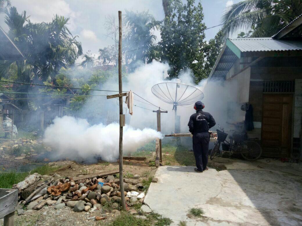 Cegah DBD, Dinkes Aceh Utara lakukan fogging