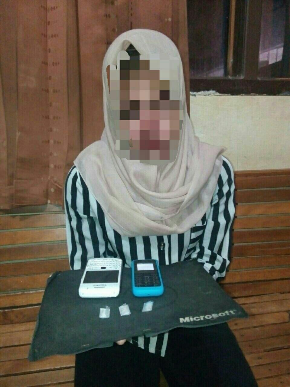Jadi DPO pelaku narkoba, gadis 21 tahun ini ditangkap di Kuta Alam