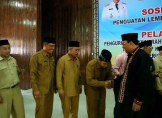 Pengurus MKKS tingkat SMP di Aceh Tengah dilantik