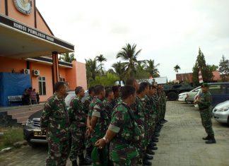 Koramil jajaran Kodim amankan Kantor KIP Aceh Timur