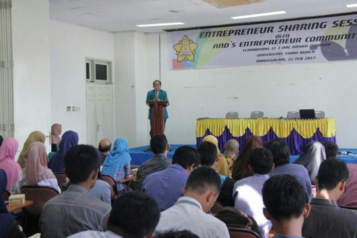 Unsyiah adakanEntrepreuneur Sharing Session