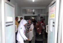Hj Yuniar belusukan ke RSUD Langsa