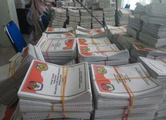 Besok, pengganti surat suara yang rusak akan tiba di Banda Aceh