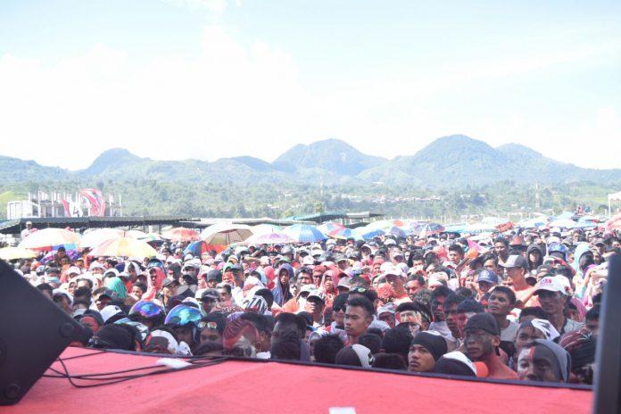 Kampanye di Takengon, Massa: kami dukung Abu Doto karena sosok yang Amanah