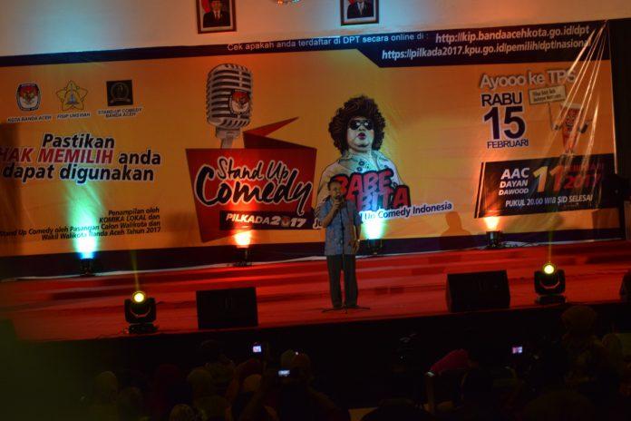 KIP Banda Aceh gelar Stand Up Comedy Pilkada 2017