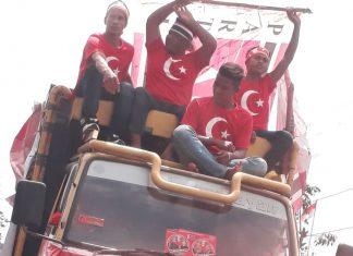 Bendera Bulan Bintang Dikampanye Mualem-TA Khalid