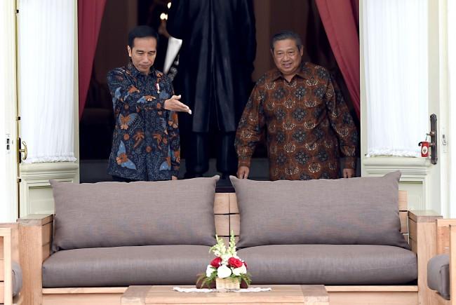 Siapa penghubung pertemuan Jokowi dengan SBY?