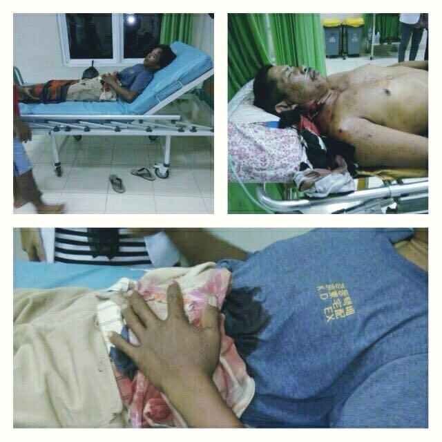 Dua warga Aceh Timur ditembak OTK, modusnya bakar kain di teras rumah