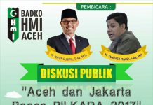 Besok, HMI bahas diskusi soal Aceh dan Jakarta pasca pilkada