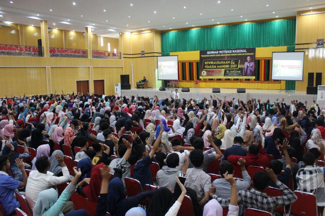 Mahasiswa, guru, dan dosen di Banda Aceh dapat motivasi kewirausahaan