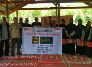 NGO dari Malaysia bantu korban gempa Pijay