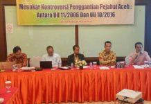 """""""Mutasi 33 Pejabat Aceh tidak ada sangkut pautnya dengan UU Pilkada"""""""