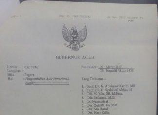 Besok, pejabat SKPA yang dimutasi harus kembalikan aset Pemerintahan Aceh