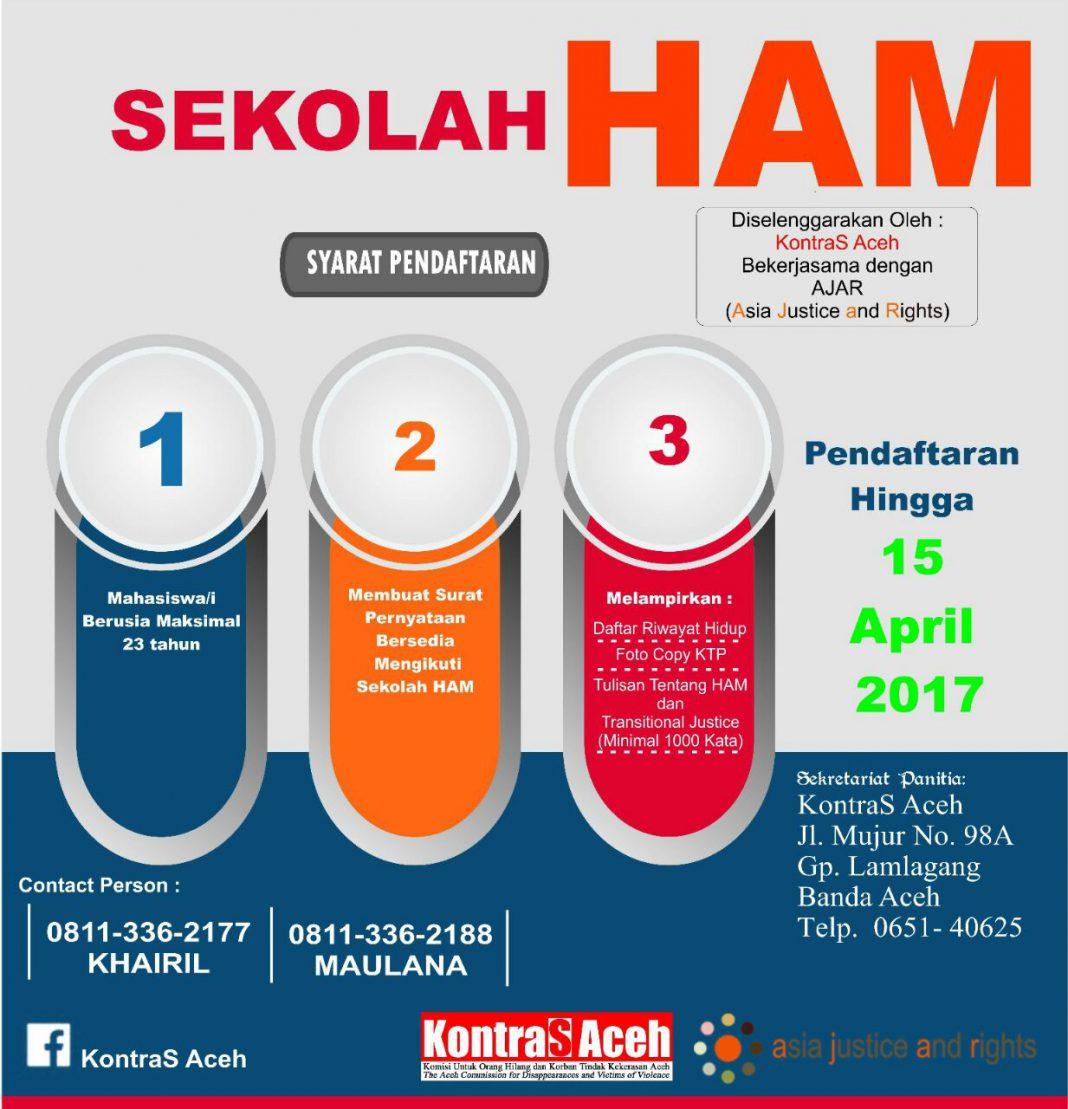 KontraS Aceh buka sekolah HAM, segera daftar
