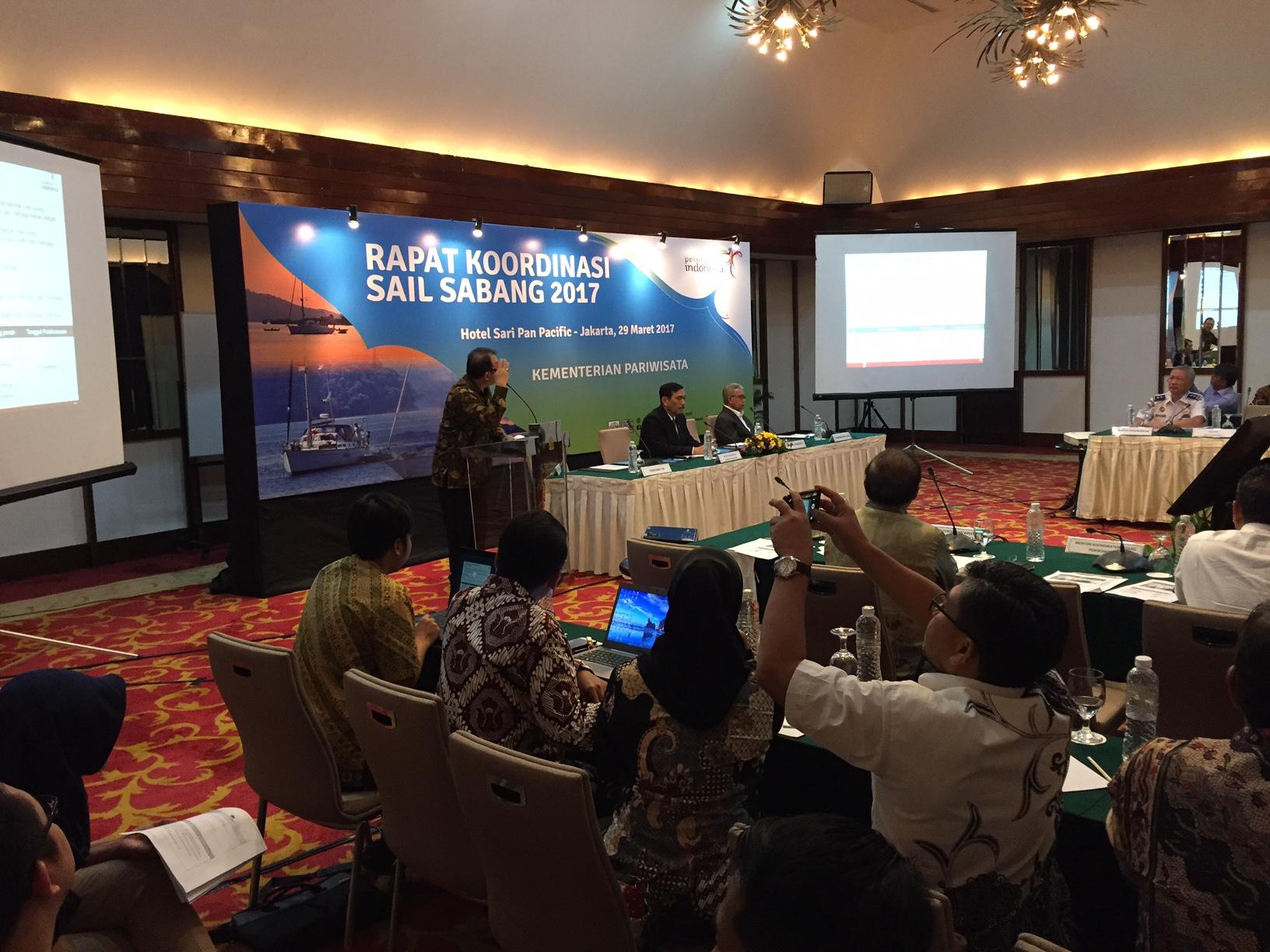 Foto: Gubernur Aceh hadiri rakor Sail Sabang bersama Menteri