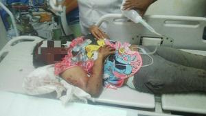 Seorang perempuan ditemukan berlumuran darah di Ulee Lheue