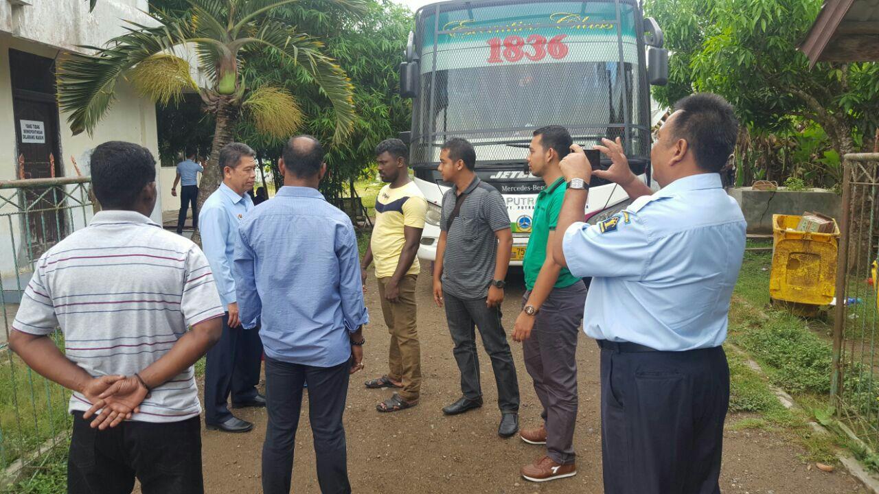 Imigran Sri Lanka di Lhokseumawe dipindahkan ke Medan