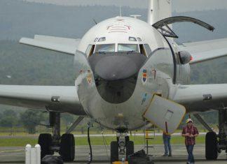 Foto: Pesawat militer AS di Bandara SIM Aceh Besar