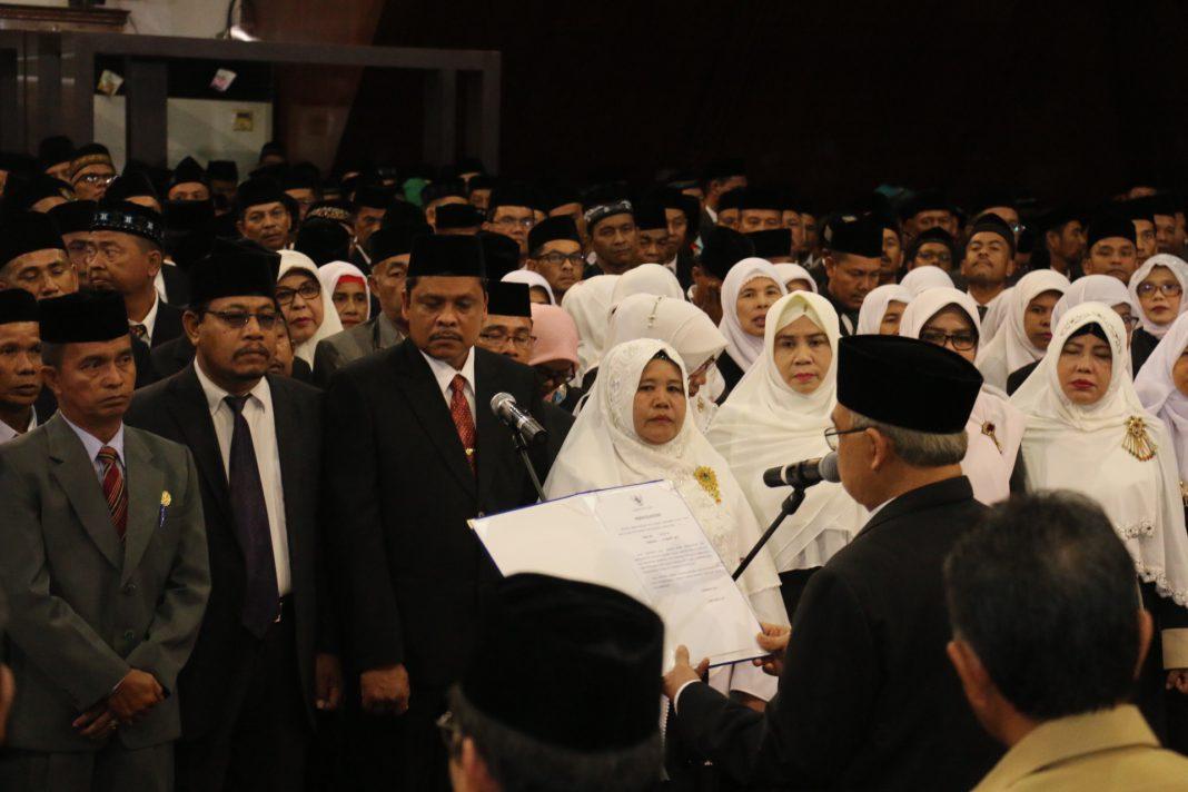 664 Kepala SMA/SMK se-Aceh dikukuhkan
