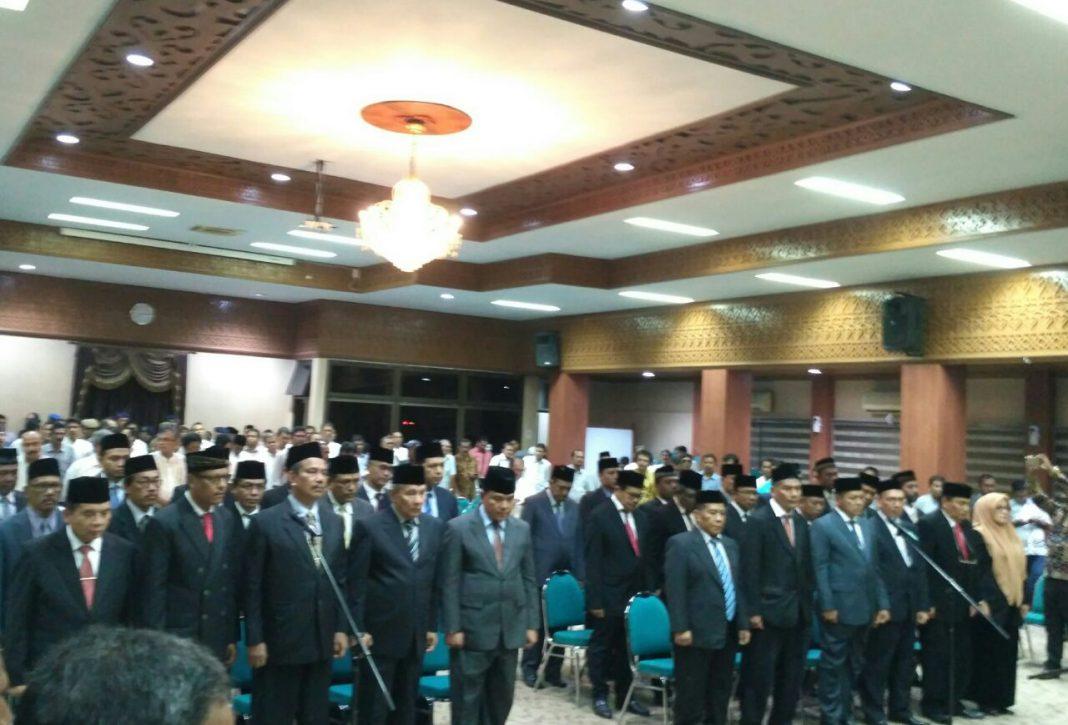 Pejabat eselon II Pemerintahan Aceh yang baru diharapkan bawa perubahan positif