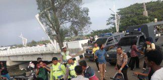 Tembakan ke udara bubarkan balap liar di Jembatan Lamnyong