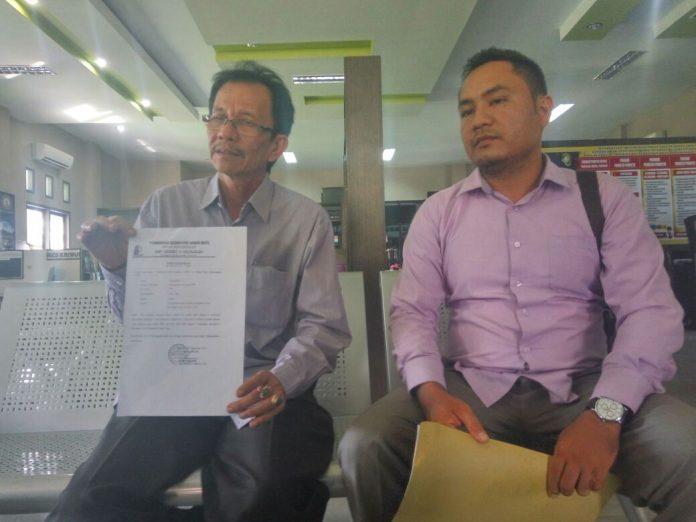 Kepsek laporkan pemalsuan surat kelulusan atas Nama Khalidin ke Polda Aceh