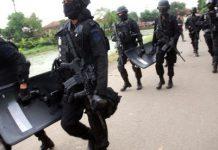 Densus 88 tangkap 4 orang terduga teroris, 1 tewas
