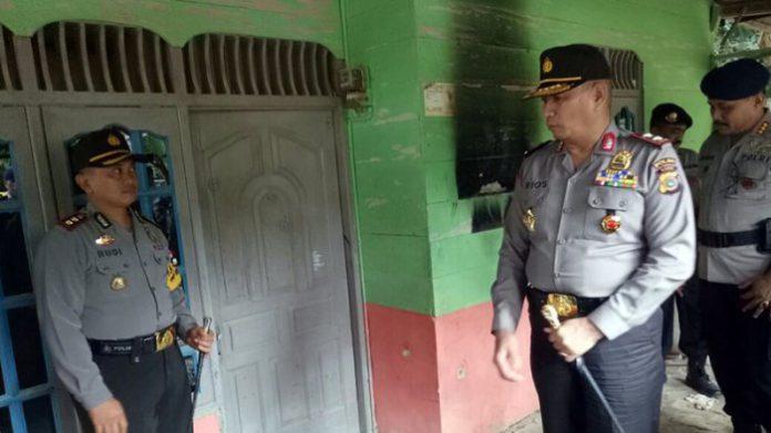 Kapolda Aceh kunjungi rumah korban penembakan