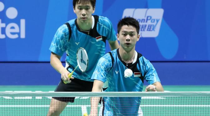 Kevin/Marcus melaju ke perempat final Malaysia Open