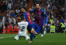 Messi 2 gol, Real Madrid kalah