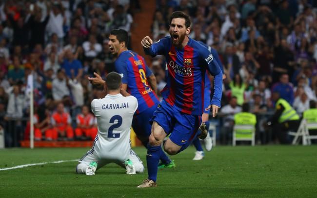 Messi 2 gol, Real Madrid kalah