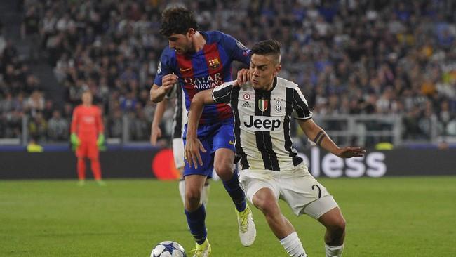 Dybala 2 gol, Juventus bantai Barcelona 3-0