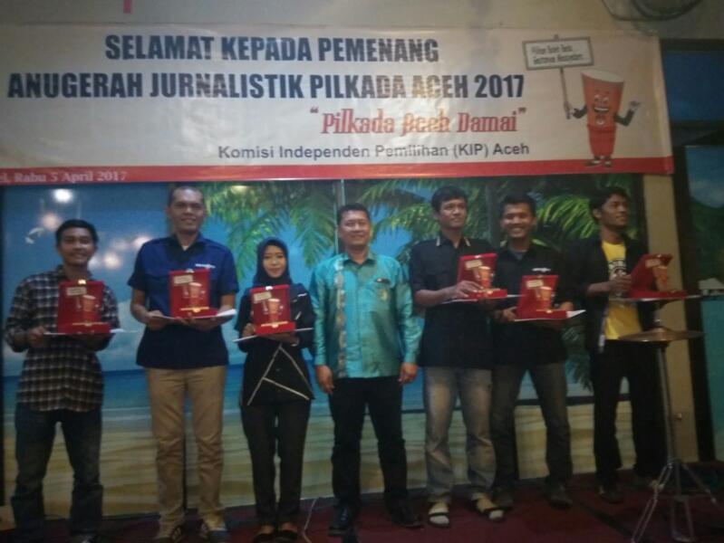 KIP Aceh umumkan pemenang lomba jurnalitik pilkada