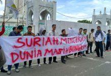 Mahasiswa dan Pemuda Aceh desak PBB usut kasus serangan kimia di Suriah