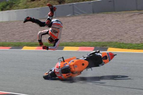 Kekecewaan Marquez pada seri kedua MotoGP 2017