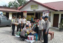 Polisi beri bantuan untuk fakir miskin di Manyak Payed